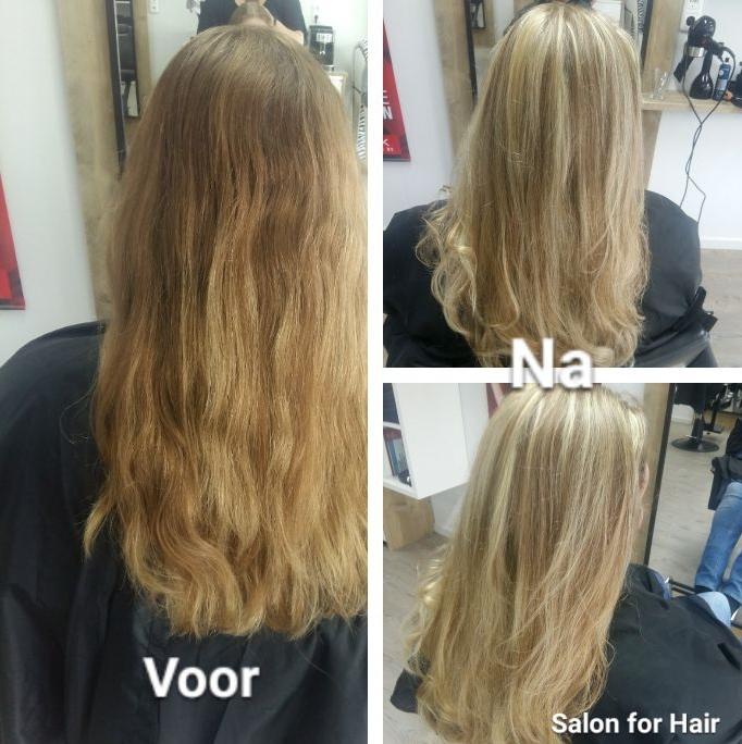 Opfrissen blond